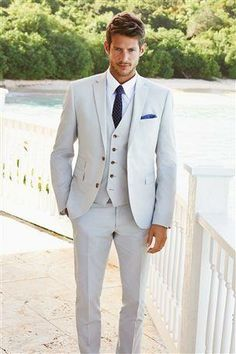 White Linen suits...perfect for summer