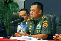 TNI mutasi jabatan 74 perwira tinggi