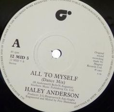 Funk-Disco-Soul-Groove-Rap: Haley Anderson - All To Myself