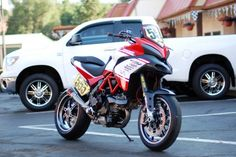 Ducati Multistrada 1200 S Pikes Peak Race Bike