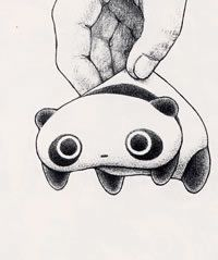 tare panda getting picked up...