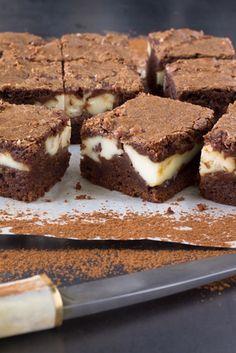 Cheesecake brownies ricetta