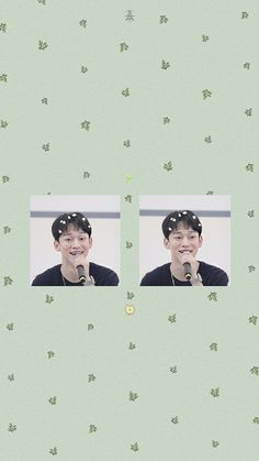 Smile Wallpaper, Dark Wallpaper Iphone, Soft Wallpaper, Wallpaper Pictures, Lock Screen Wallpaper, Baekhyun, Chanyeol Cute, Kris Wu, Kai