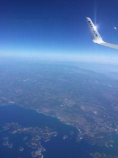 #plane #flugzeug #sky #horizon #blue #earth
