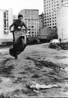 Vespa, A Coruña, Galicia, Spain, 1960s