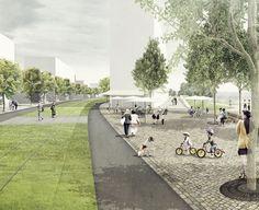 atelier loidl | Wettbewerb 2014   3. PreisIn Zusammenarbeit mit BPR Dr. Bernhard Schäpertöns & Partner www.bpr-gruppe.de und Reinhart+Partner   Architekten und Stadtplaner   www.reinhart-architekten.de