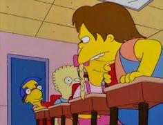 11 momentos de Milhouse, el personaje con mas bullying