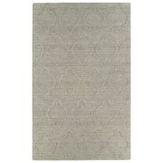 Trends Oatmeal Prints Wool Rug (8' x 11') - Overstock™ Shopping - Great Deals on 7x9 - 10x14 Rugs