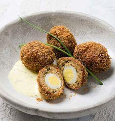 Scotch Eggs, Starters, Breakfast, Desserts, Food, Morning Coffee, Tailgate Desserts, Deserts, Essen