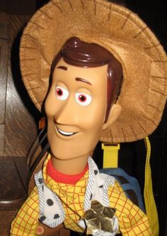 The backpack area of this bag is small but this large Toy Story Woody plush  is be786c6189e