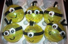 Despicable Me Minions Ornaments by FriendsandBroomstick on Etsy, $6.00
