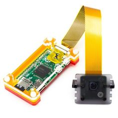 Camera Cable - Raspberry Pi Zero edition - Your new Raspberry Pi Zero has its own camera port, but its smaller than the one on the Pi so how do you connect your awesome Raspberry Pi camera module to it? This little cable will sort you right out! Raspberry Pi Camera, Raspberry Pi Projects, Cheap Computers, Arduino, Python, Usb Flash Drive, Zero, Cable, Engineering