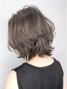 Pin on ヘアスタイル Short Grunge Hair, Edgy Short Hair, Asian Short Hair, Short Hair Cuts, Girl Short Hair, Mullet Haircut, Mullet Hairstyle, Shaggy Haircuts, Choppy Bob Hairstyles