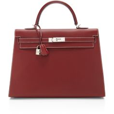 Heritage Auctions Special Collections Hermes 35Cm Rouge H Chamonix Leather Sellier Kelly