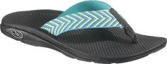 Women's Chaco Flip EcoTread - Fiesta Blue with FREE Shipping & Exchanges. The Flip features a polyester webbing upper, a polyurethane BioCentric footbed, and an EcoTread