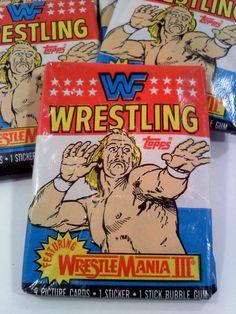 Vintage WWF Wrestling Trading Cards