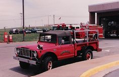 Athens Fire Dept: 1067 Willys Jeep Brush Truck