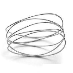Tiffany Peretti Wave Bangles Silver