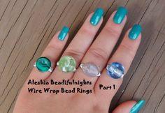 Wire Wrap Bead Ring Wirework Tutorial Part 1