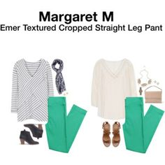 I'd love some mint green pants, and my other Margaret M pants fit awesome....