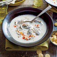 Classic Oyster Stew | MyRecipes.com