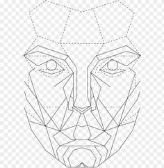 the golden ratio in graphic - perfect female face template PNG image with transparent background png - Free PNG Images Cartoon Template, Face Template, Face Symmetry, Golden Ration, Picsart, Geometric Face, Digital Art Beginner, Face Outline, Face Proportions
