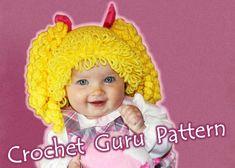 Crochet Cabbage Patch Hat Pattern