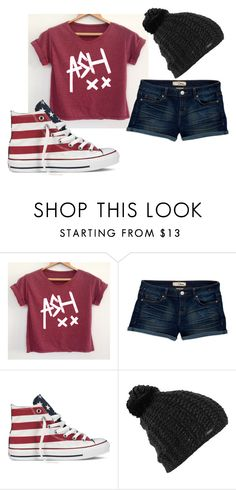 """""""xx American Beanie xx"""" by xfrenchbraidx on Polyvore featuring Dittos, Converse and Burton"""