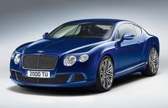 2013 Bentley Continental GT Speed debuting at Goodwood with 616 HP and 205 MPH top speed