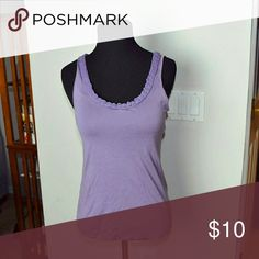 Banana Republic Lavender Sleeveless Blouse In excellent condition. Very cute. Banana Republic Tops Blouses