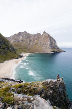 ponderation:  Kvalvika beach Lofoten by Lyes