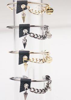 [바보사랑] 시크하고 엣지있게 스타일내기! /팔찌/주얼리/패션주얼리/체인/시크/Bracelet/Jewelry/Fashion Jewelry/Chain/Accessories/Chic
