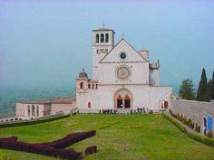 La Basilica di Francesco ad #Assisi