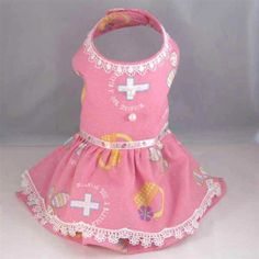 Designer, custom, handmade, formal Harness Dog Dress for Easter Pink Eggs with Cross for small teacup and toy breed dogs like Maltese, malti... - $56.00 My Little Girl, Little Dogs, Toy Dog Breeds, Teacup Maltese, Pet Boutique, Easter Dress, Animal Fashion, Dog Dresses, Dog Harness