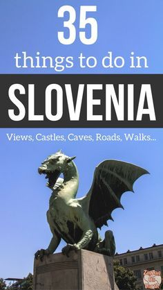 Slovenia Travel Guide - Find out 35 of the best things to do in Slovenia in pictures - best views, best walks, best drives, best waterfalls, best castles, best natural wonders... including Vintgar Gorge, lake Bled, Lake Bohinj, Ljubljana, Piran... as well as off the beaten track options | Slovenia Itinerary | Slovenia things to do | #Slovenia #Ifeelslovenia