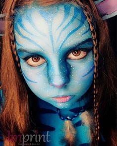 Avatar Face paint Body art