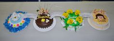 Girl Scout Bridging Ceremony Cakes