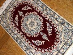 エレガントデザインと色彩のペルシャ絨毯58056、ペルシャ絨毯らしいデザイン