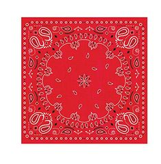 Creative Converting 16 Count 3 Ply Bandanarama Beverage Napkins Red * Be sure to check out this awesome product. (This is an affiliate link)