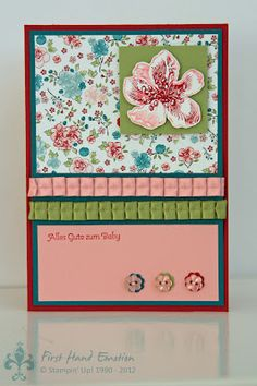 Stampin' UP! Vintage Mix Everything Eleanor Kleine Wünsche by First Hand Emotion