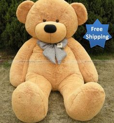 Big Large Giant Brown Teddy Bear Plush Toy,Light Feet Tall , Find Complete Details about Big Large Giant Brown Teddy Bear Plush Toy,Light Feet Tall,Plush Toy Teddy Bear from Stuffed & Plush Animal Supplier or Manufacturer-SANC Huge Teddy Bears, Teddy Bears For Sale, Giant Teddy Bear, Brown Teddy Bear, Giant Stuffed Animals, Stuffed Toys, Bear Doll, Plush Animals, The Villain