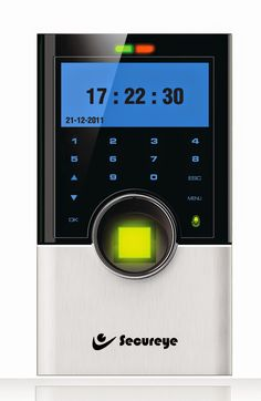 Secureye IP-based Professional Access Control Time & Attendance Biometric Machine, S-B75C is a typical hassle-free mechanism. A mere connection with Ethernet port or through Internet and it gets going. A smashing technological product, S-B75C has a Monochrome Display 122/32 Screen with a Touch-Button Keypad giving it a swanky tinge and facilitating functionalities.