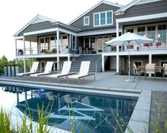 Home Design and Interior Design Gallery of Modern Landscape Cache Valley House Backyard With Pool