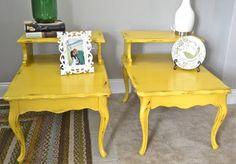 Lots of refurbished furniture ideas.