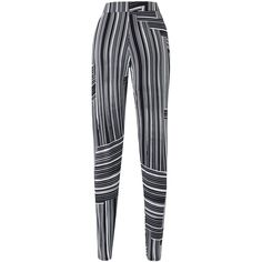 Geo Stripe Jersey Harem Trousers | SimplyBe US Site ($16) ❤ liked on Polyvore featuring pants