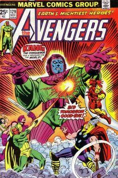 the avengers, kang, marvel comics, thor, vision, iron man