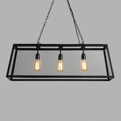 Rectangular 4-Sided Glass Pendant Lamp | World Market
