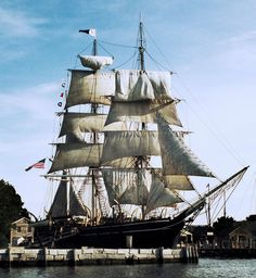 Discover Mystic Seaport in Stonington, Connecticut: Holding multiple historical boats and an entire century village, this New England attraction is the largest maritime museum in the world. Mystic Connecticut, Mystic Seaport, Set Sail, Am Meer, Tall Ships, Vacation Trips, Vacations, Sailing Ships, New England