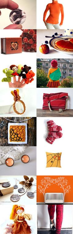 Colorful autumn  by Ildikó on Etsy--Pinned with TreasuryPin.com