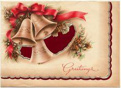 Holiday Card - Three Bells Greetings HM0049 (1) by Eudaemonius, via Flickr